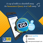 LIC Agent Delhi at RGInsuranceExpert.com