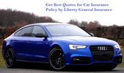 Get Best Quotes for Car Insurance Policy by Liberty General Insurance