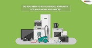 Buy Extended Warranty For Your Home Appliances