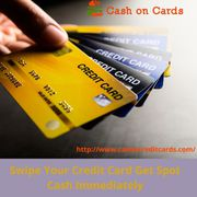 Instant cash On Cards